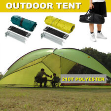 4.8m Large Outdoor Camping Tent Portable Beach Canopy UV Sun Shade Shelter +