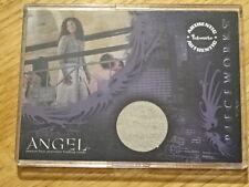 ANGEL PIECEWORKS GINA TORRES CARD! INKWORKS  COA PW4
