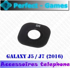 Samsung galaxy J5 J7 2016 lentille vitre cache camera arrière glass lens cover