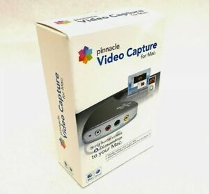 Pinnacle Video Capture for MAC - VHS video transfer hardware + software