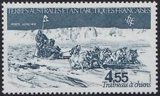 TAAF PA N°74**  Traineau à chiens, 1982 FSAT Dog-sledding MNH