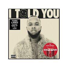 Tory Lanez - I Told You Target Exclusive Audio CD Bonus Tracks NEW