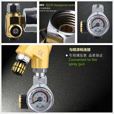 HD Air Regulator with Pressure Gauge In-Line Air Regulator Spray Gun Regulator