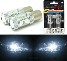LED Light 30W 1156 White 5000K Two Bulbs Front Turn Signal Replace Lamp Upgrade