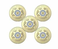 2019 $2 Dollar POLICE REMEMBRANCE - RAM BAG Of 5 Coins ** FREE POST