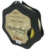 NEW Orvis Wonderline Fly Line! WF 11 I (WF11I) (WF-11-I) Clear Sink Tip Yellow