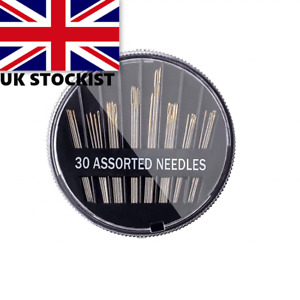 2 x Assorted Hand Sewing Needles - Embroidery Craft Quilt Mending Sew  UK SELLER