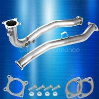 WRX MANUAL CATLESS DUAL O2 BUNG J PIPE 16 SRS SR*S DOWNPIPE FOR 2015-2018 2015
