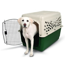 "Portable 40"" Dog Crate Kennel XL Large Dogs Travel Pet Carrier Bed Home Secure"