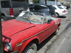 78 Fiat 124 Spider complete car for sale for parts or project 1978 NO SHIPPING