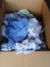 Carton Colored Hospital Gowns Rags 50 LB - Good Absorbency Cheapest Rag on E-Bay