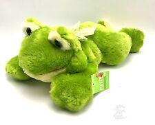 Green Frog Plush Soft 16 inch Stuffed Animal Toy New