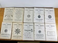 More details for 112 x seaby's coin & medal bulletin 1951 to 1952 and 1956 to 1963
