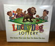 NIB Lucky Dog Lottery, Floor Game Lets Your Pet Make The Bet, Canine Family Fun