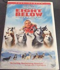 EIGHT BELOW DVD WITH PAUL WALKER BY DISNEY