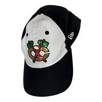 Chicago Blackhawks Cap Hat Ladies Women New Era Glitter Glam NHL Hockey
