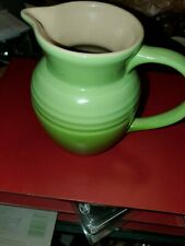 Nice Le Creuset Pitcher Green 6 Tall Stoneware
