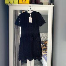 Ted Baker Dress. Black Lace. Size 2 (UK 10/12) New