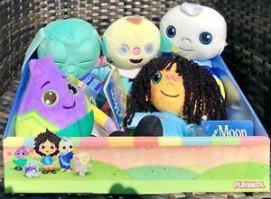Moon and Me 20cm Plush Toy Pepi Nana,Moon Baby,Onion,Sleepy Dibillo,Colly Wobble