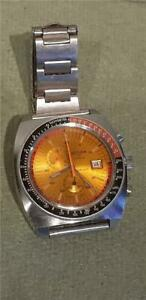 Vintage 1970's Sicura Gents Chronograph Manual Winding Wristwatch