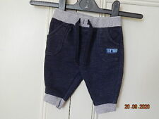 Disney Boys Blue & Grey Tigger Jogging Bottoms Size 0-3 Months