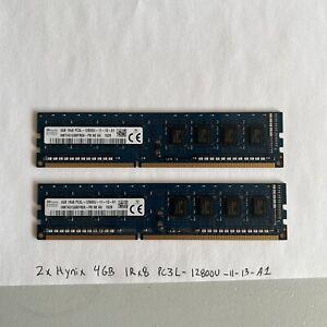 Desktop Memory SK Hynix 8GB Kit ( 2 x 4GB ) 1Rx8 PC3L-12800U DDR3L 1600 NON-ECC