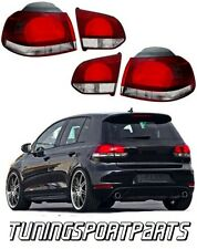REAR TAIL LIGHTS FOR VW GOLF VI 6 RED-SMOKE GTI LOOK NEW LAMPS FANALE
