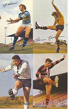 1971 AUSTRALIA MOBIL LEAGUE PHOTOS CARD TONY SCOTT SOUTHS RUGBY FOOTY # 11