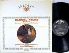 FAURE: Shylock Pavane Madrigal Caligula > Senechal de Almida / ORTF stereo LP NM