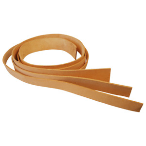 Leather Hide Strap Belt Blank Make Your Own Belt Guitar Rifle Dog Collar