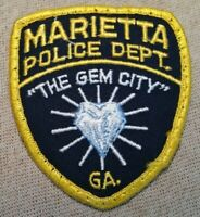GA Marietta Georgia Police Patch