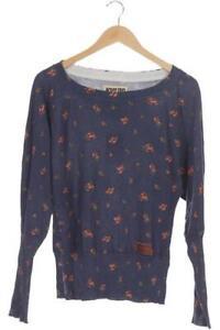 Khujo Pullover Damen Hoodie Sweatshirt Gr. XL Baumwolle blau #4b8bf9d