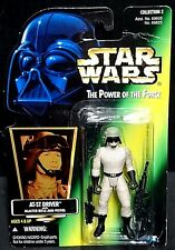 Star Wars Power of the Force AT-ST Driver (vintage 1996) NOUVEAU!