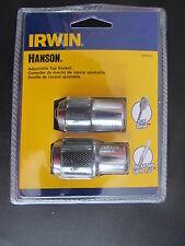 Irwin Hanson 2 PC Adjustable Tap Socket #3095001 NEW