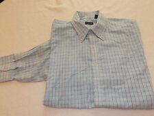 Van Heusen Mens Long Sleeve Button Up Shirt Size L 16-16.5