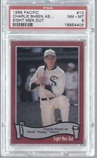 1988 Pacific Eight Men Out Charlie Sheen RC Card #10 PSA 8 NM-MT #