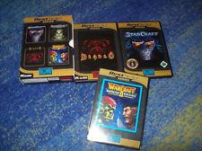 Starcraft y Warcraft y Diablo y Warcraft expansión set alemán todos los códigos