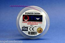 Dental Orthodontic Power Chain Elastic Long Grape Purple Spool Cadena ORTHOM