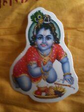 Aufkleber goa psy hippie sticker indien Inde Krishna ethno gott yoga om a1