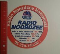 Aufkleber/Sticker: Radio Nordzee National (261216162)