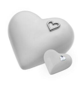 Exclusive Adult Cremation urn for Ashes Funeral urn Unique Memorial -Heart urn