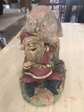 Clark Christmas Santa Gnome Cairn 2004 Owl 5561 Hoot And Toot
