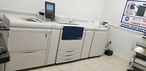 Xerox C75 Digital Press Color Laser Production Printer Copier   252K total