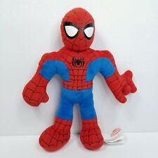 "Plush Spider-man Marvel Superhero Squad 10"" Stuffed Red Blue Web Shooting Sound"