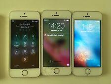 Lot of 6 Iphones 5 S For Parts Please Read Description! 5S repair