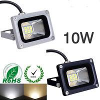 1X 10W 12V Fluter Warmweiß LED Außen Strahler Flutlicht Scheinwerfer Lampe IP65