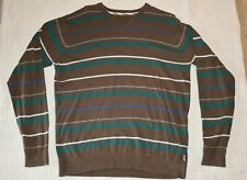 Vans Off The Wall Men's Knit Pullover Crew Sweater - Size Large - FREE SHIPPING!