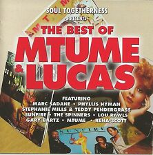 Mtume and Lucas – Best of Mtume and Lucas    New cd