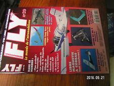2µ?§ Revue FLY n°39 Plan encarté Caudron Cyclone / Aile Manta Shark 40 Cessna 19