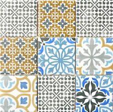 Mosaik Fliese Vintage Retro Multicolor Küche Rückwand Keramik 22B-1406_b 1Matte